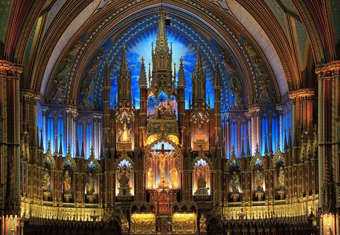 La basilique Notre-Dame, joyaux architectural