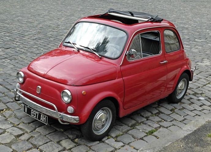 La mythique Fiat 500