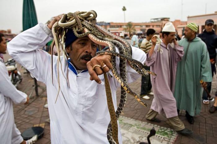 Le charmeur de serpent, frissons garantis !