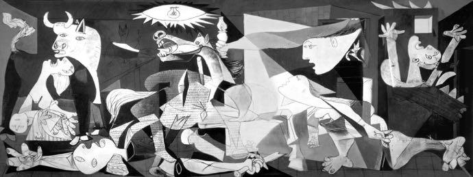 Au musée Reina Sofia, vous pourrez admirer le Guernica de Picasso
