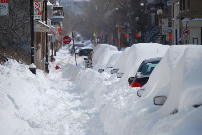 Je voudrais voir l'hiver à Montréal !