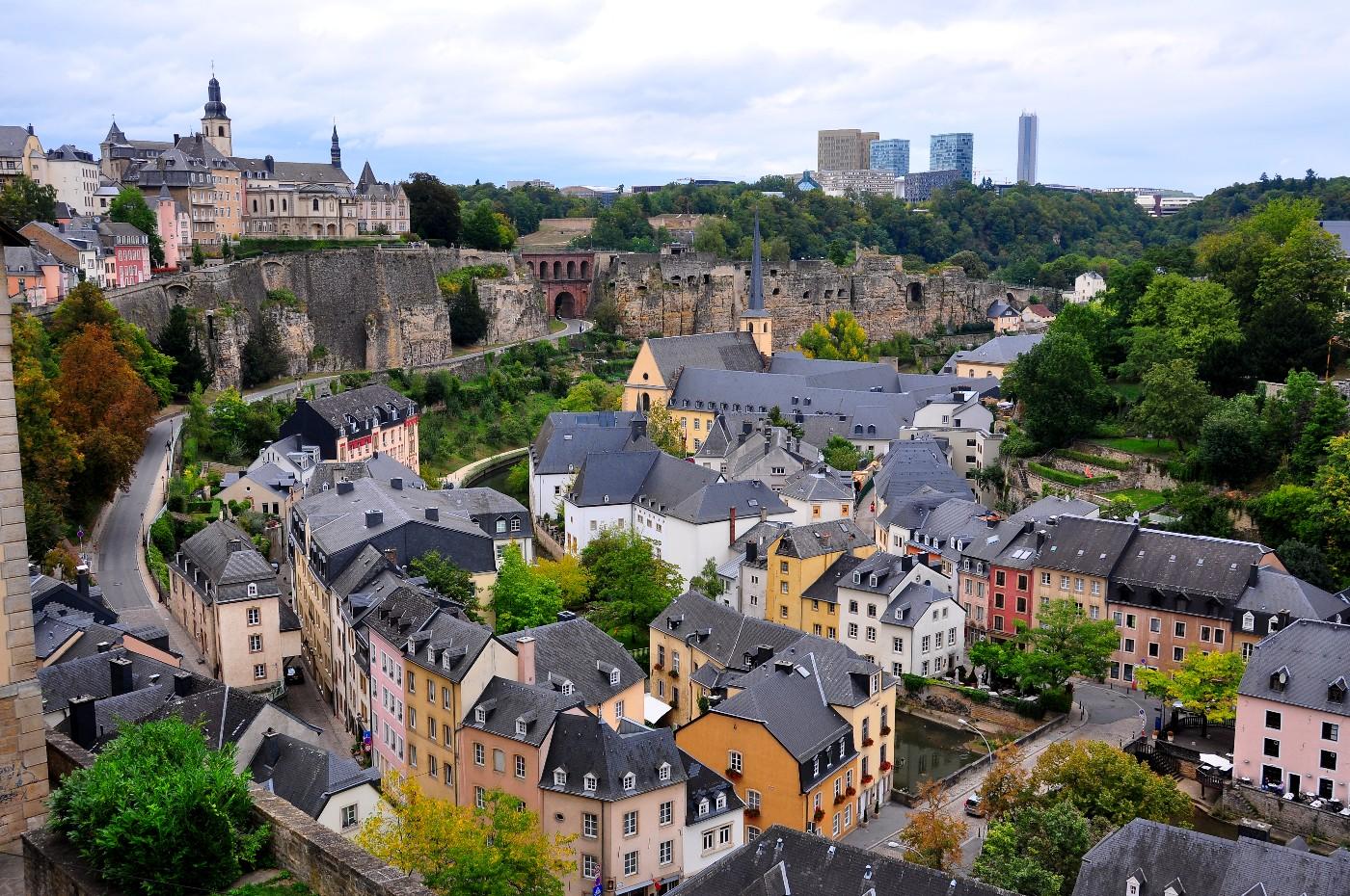 On a fait un tour dans la capitale du Luxembourg !