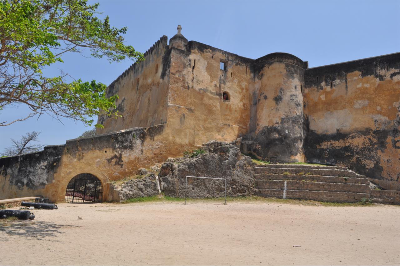 Mombasa un centre historique du Kenya