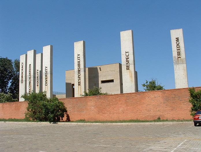 Visite du Musée de l'Apartheid dans la ville de Johannesburg