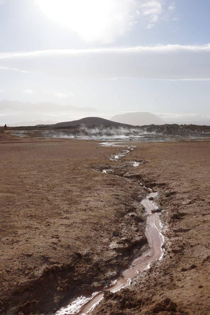 Námafjall et les champs géothermaux