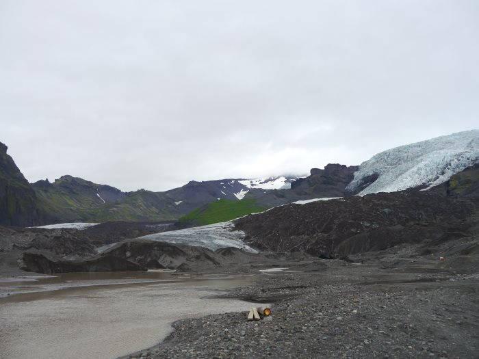 Randonnée sur un glacier du Parc national de Skaftafell