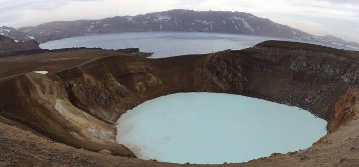 Lac Viti de la Caldeira d'Askja
