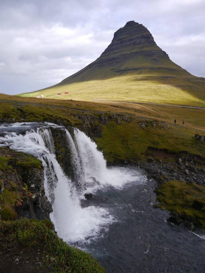 La montagne de Kirkjufell
