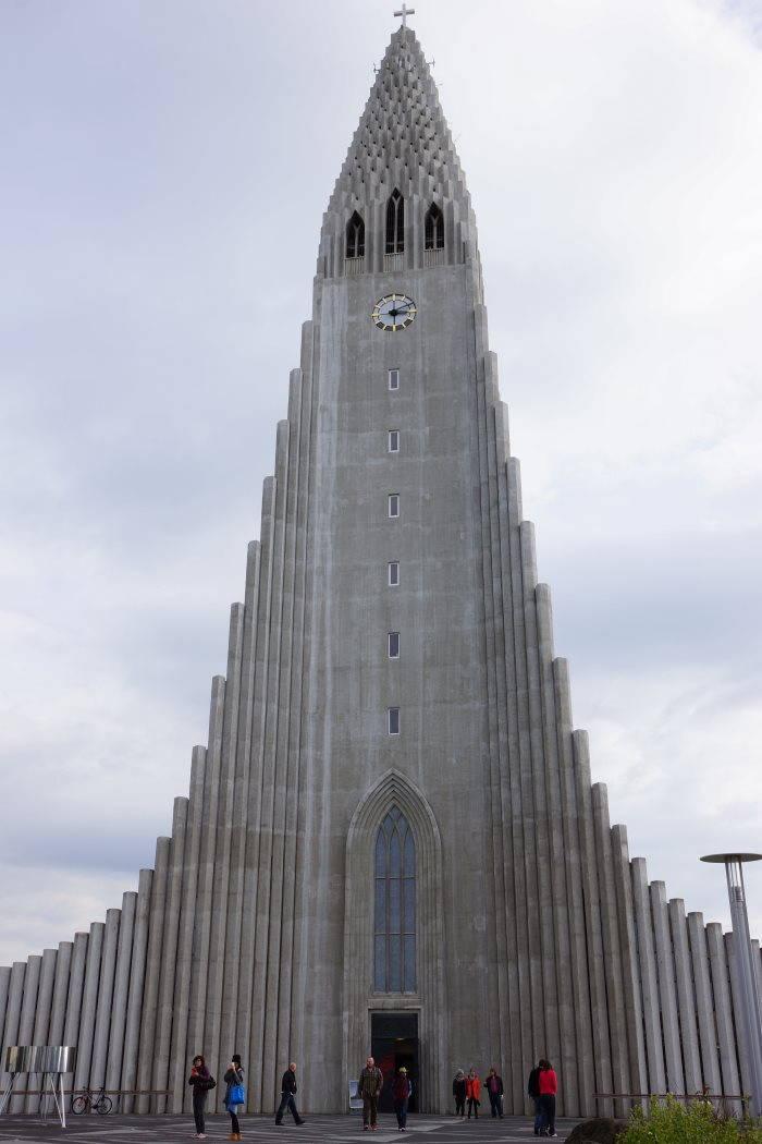 L'église Hallgrímskirkja de Reykjavik