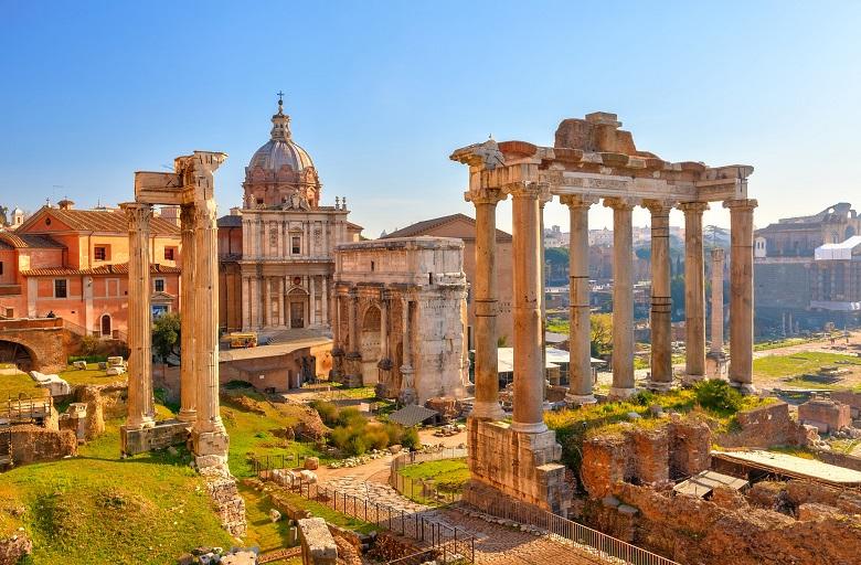 Une visite à Rome, la ville éternelle