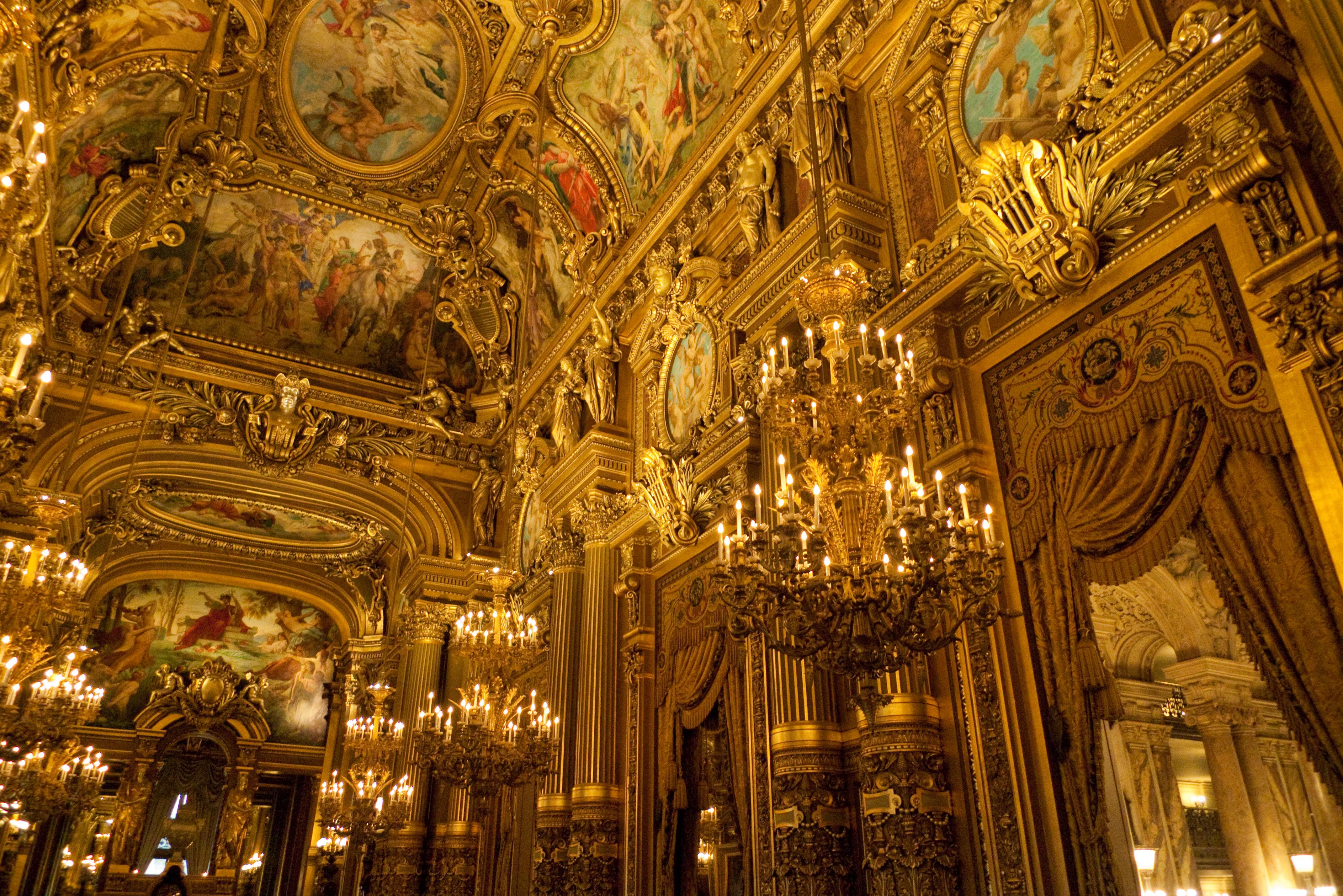 Visite Palais Garnier lors d'un weekend en amoureux à Paris