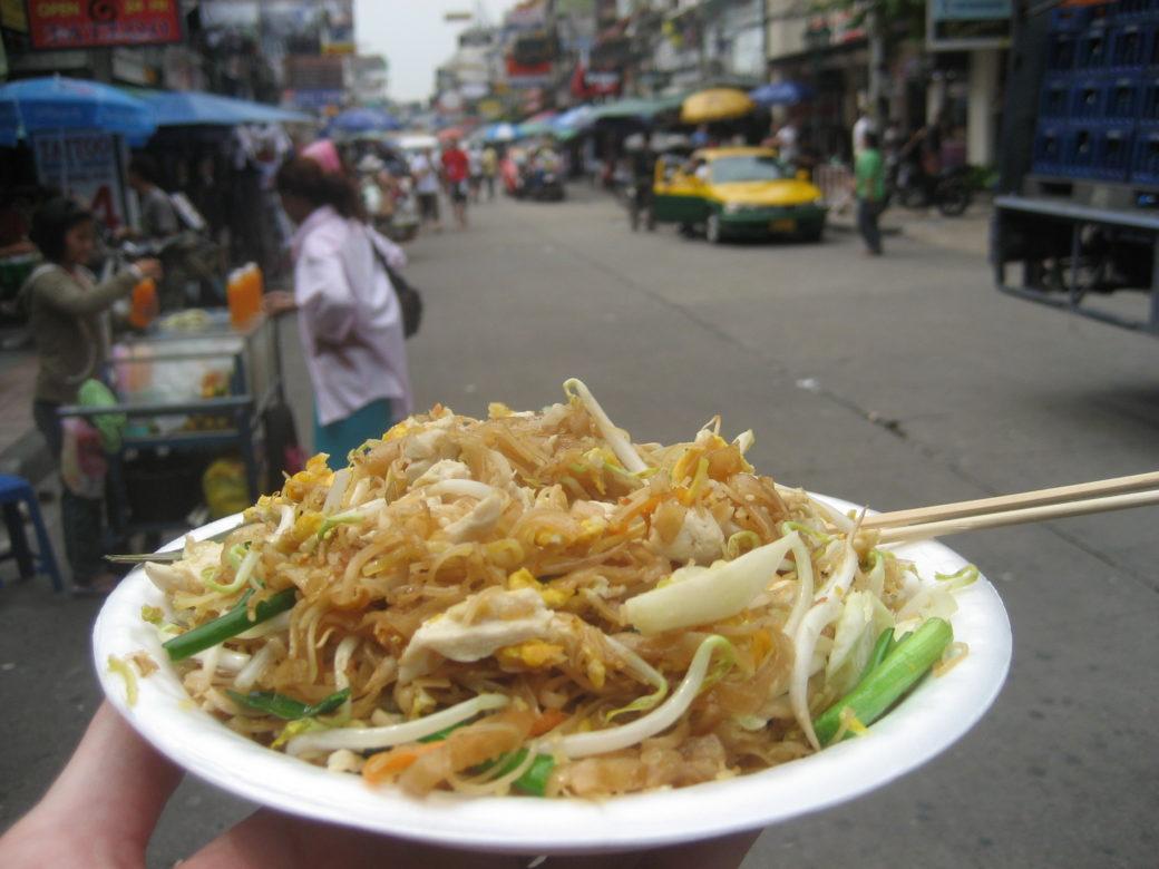 pad thai bangkok que faire en thailande en aout