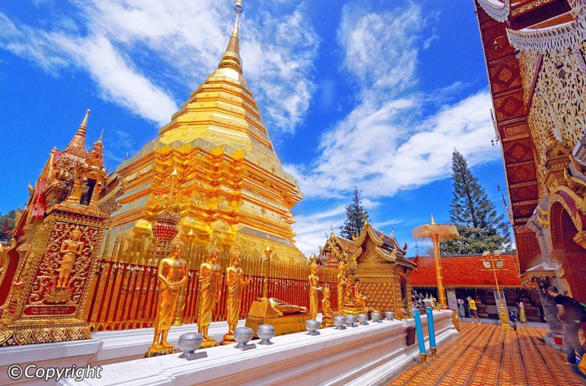temple doi suthep que faire en thailande en aout