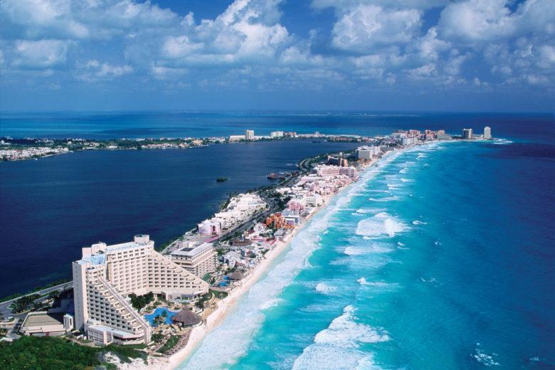 Cancún ville plage