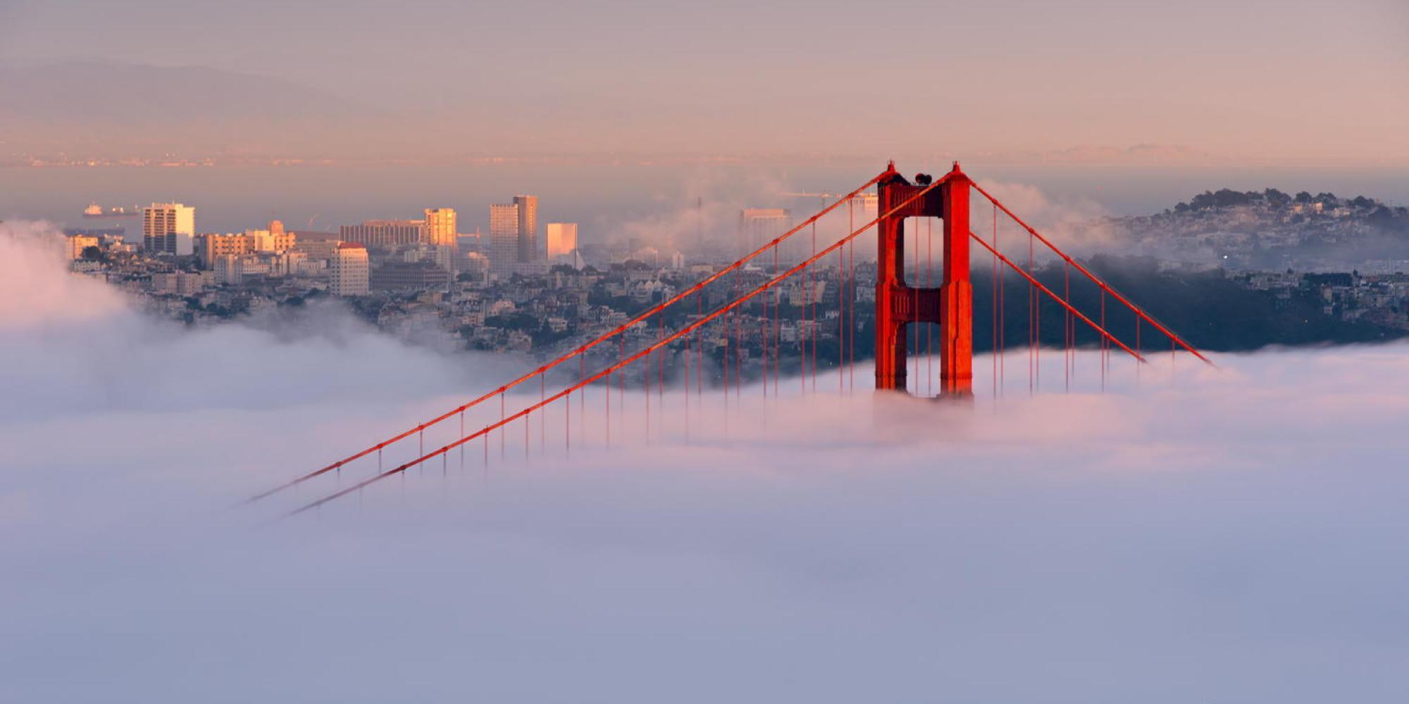 San Francisco : une ville divine dans une baie angélique