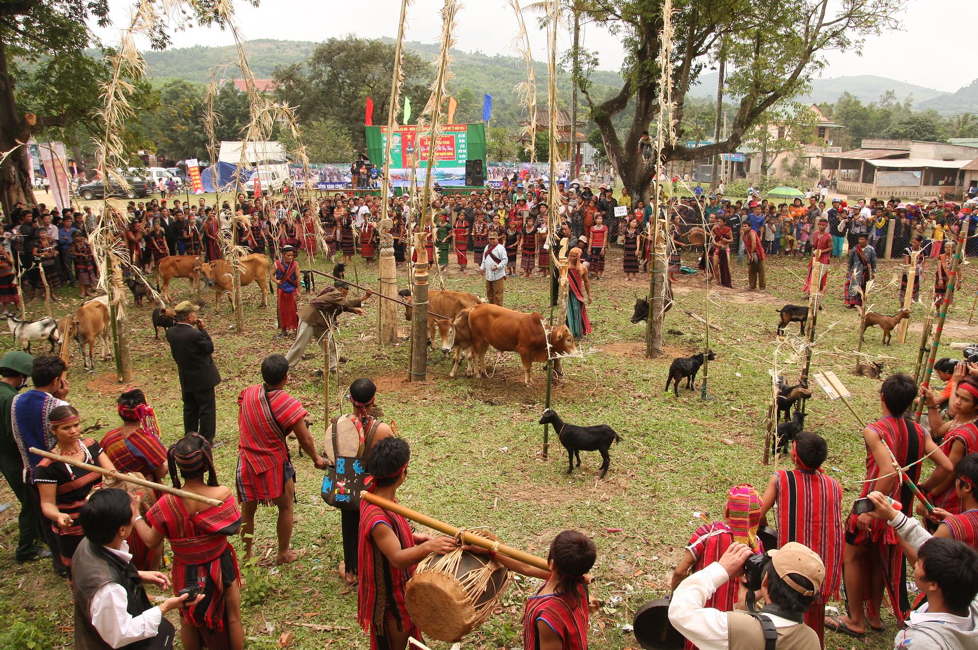 Une grande festivité au Vietnam (Arieu Ping)