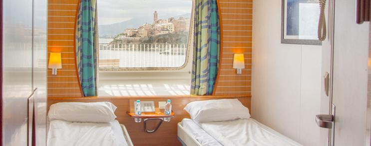 Notre première fois sur un ferry vers la Corse