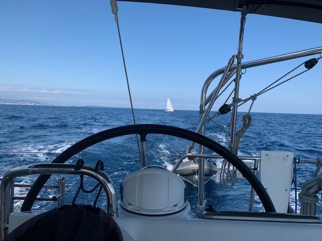 skipper à Cannes