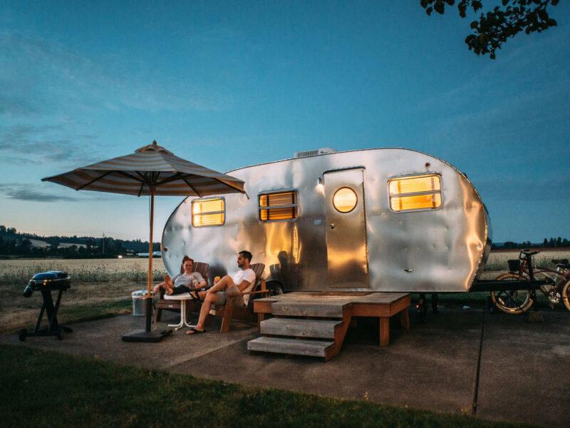 Camping dans les Landes